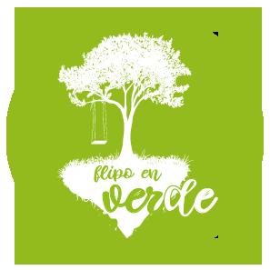 Flipo en verde Logo