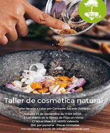 taller de cosmética natural en Valencia