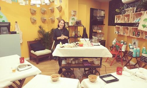 taller cosmética natural en Valencia