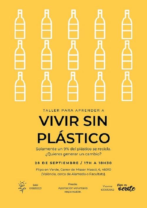 taller aprender a vivir sin plástico en Valencia