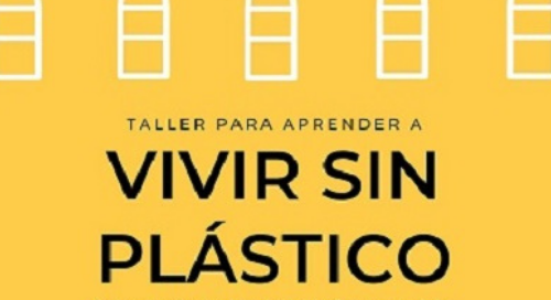 charla vivir sin plástico en Valencia