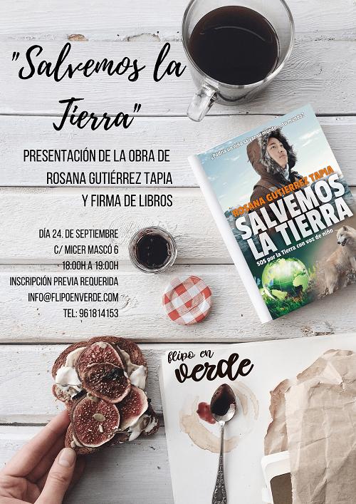 presentación de libro Rosana Gutiérrez en Valencia