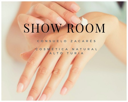 Showroom de cosmética natural en Valencia