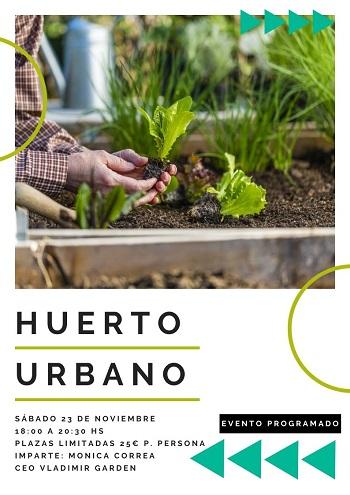 Taller Huerto Urbano en Valencia