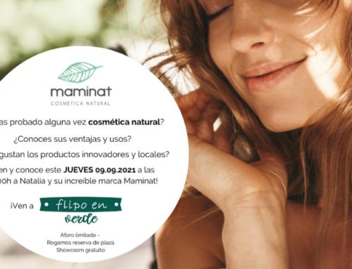 Presentamos a Maminat – Cosmética natural y de Residuo Cero