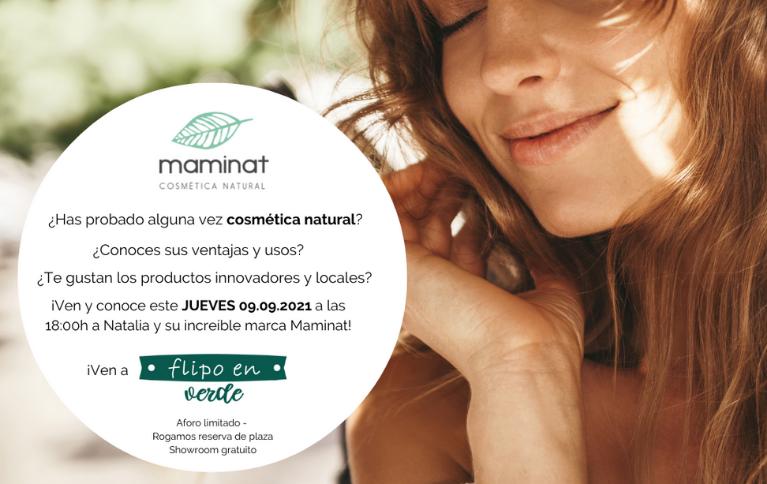 showroom de cosmética natural y de residuo cero en Valencia