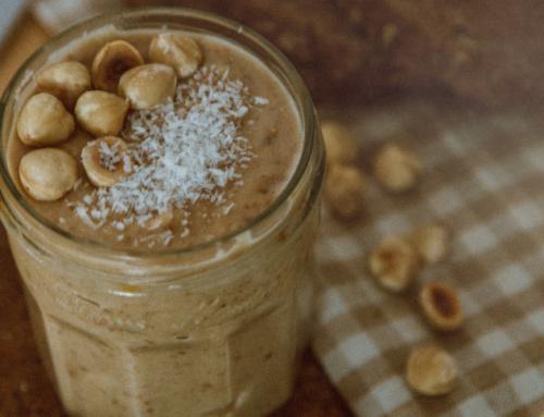 Crema de avellanas con coco